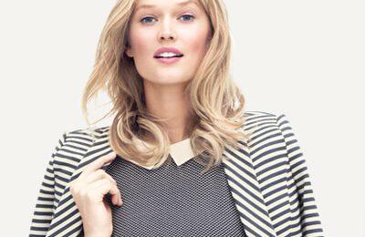 Model wearing Ann taylor
